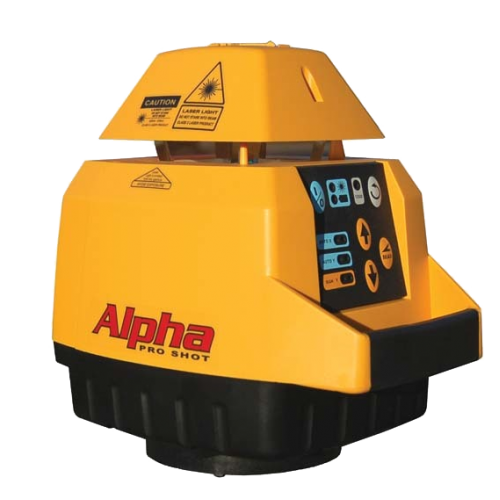 PRO SHOT ALPHA LASER LEVEL - WITH STORM RECIEVER