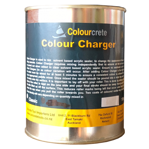 COLOUR CHARGER DARK BROWN 1l
