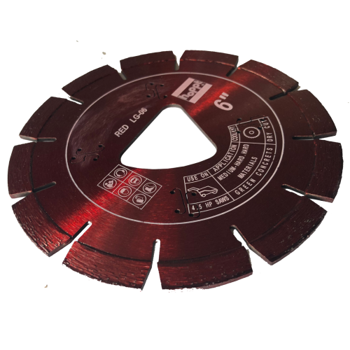 HOPPT EARLY ENTRY SAW BLADE RED 150mm