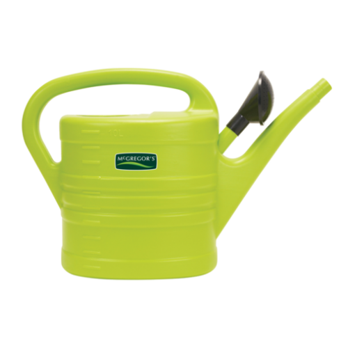 MCGREGORS 10l PLASTIC WATERING CAN