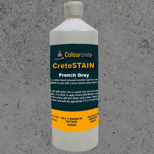 COLOURCRETE CRETESTAIN FRENCH GREY 500ml